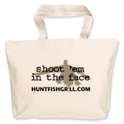 Large tote bag. Perfect for transporting your grilling tools and seasonings.