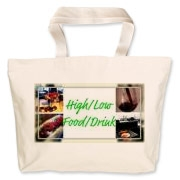 Bright Logo Jumbo Tote Bag