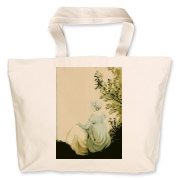 Watercolour of Jane, by Cassandra 1804 Jumbo Tote