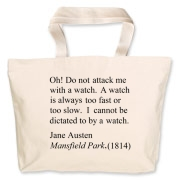 Watch Attack Jumbo Tote Bag