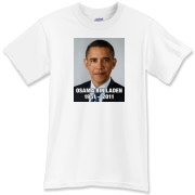 Obama Teardrop for Bin Laden T-Shirt