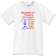 Slugging Percentage T-Shirt