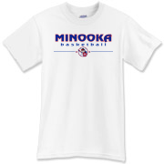 MINOOKA basketball T-Shirt
