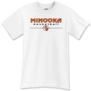 MINOOKA HS basketball T-Shirt