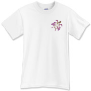 Winged Turtle - Purple T-Shirt