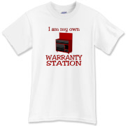 Warranty Station  T-Shirt