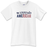 A Scottish American t-shirt for all those lucky enough to have the blood of the Scots!  The Scotland flag and American flag shine boldly on this great tee shirt!  Murchada Outfitters salutes America and Scotland!