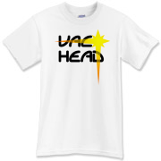 Vac Head (Black-Yellow) T-Shirt
