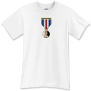 Pennies For Heroes Medal T-Shirt