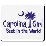 Our Carolina Girl Best in the World printed in purple. Carolina Girls are truly the best in the world. Best in the world Carolina Girl Mugs and Gifts for everyone.