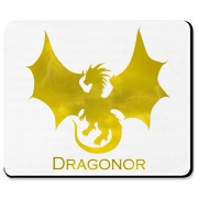 The Dragonor logo on a mousepad for your computer!