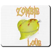 A Little Zombie Love to your Brain Mousepad