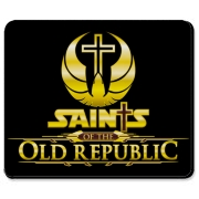 Saints v3 Mousepad