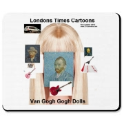Admittedly this is one strange image but it surely is a popular one and we are producing a limited release, making it also a valuable collectible. Don't miss out Goo Goo Dolls Fans, Barbie Fans, or Vincent Van Gogh fans, or just people who enjoy laughing.