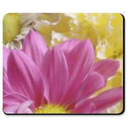 Personalized gerbera daisy gift mousepad will look beautiful on your home or office desk. Consider a custom mouse pad for a birthday present, holiday gift or just everyday fun. Visit WWW.BONFIREDESIGNS.COM for more personalized gifts and t-shirts