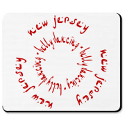 NJBD Circle Mousepad