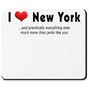 I heart New York.