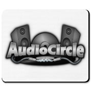 AC Gray Logo Mousepad