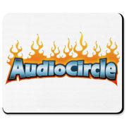 AC Flames Logo Mousepad