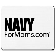 Proud...NAVY For Moms Apparel Mousepad