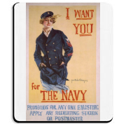 I Want You...for the Navy Mousepad