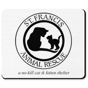 Support St. Francis Animal Rescue!  All money received from the sale of these items will go directly to caring for the cats at the shelter.  Thanks for your support!