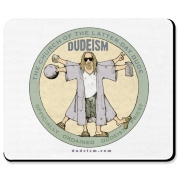 Tell the world you're a Dudeist Priest with our Dude Vinci design.