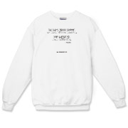 The Shit's Gonna Splatter Crewneck Sweatshirt