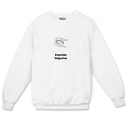 This silly insect crewneck sweatshirt uses pseudo-Latin Insectus Vulgarius to label the image of a disgusting cockroach. Biology may be an interesting science, but some bugs are just creepy.