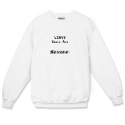 This Linux geek crewneck sweatshirt says: Linux Users Are Sexier. Duh! Let this design advertise your sexy computer prowess.