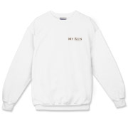 MY RUN - Design - 2  Crewneck Sweatshirt