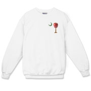 Especially for teachers, the School Apple Palmetto Moon Crewneck Sweatshirt features a smaller version of the South Carolina palmetto with an apple and chalkboard moon.