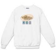 The Nerdy Distance Between Us Crewneck Sweatshirt