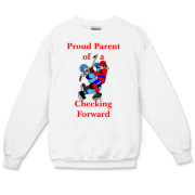 Proud of Checking Forward Crewneck Sweatshirt