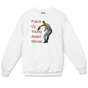 Future Cy Young Winner Crewneck Sweatshirt