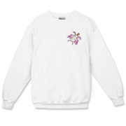 Winged Turtle - Purple Crewneck Sweatshirt