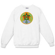 Turtle Hands Crewneck Sweatshirt
