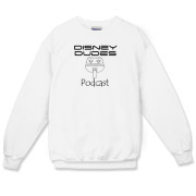 Disney Dudes Podcast Monorail Crewneck Sweatshirt