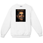 Celebrate the 2009 inauguration of Barack Obama with this sweatshirt!