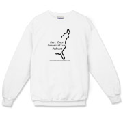 East Coast Conservative Logo Crewneck Sweatshirt