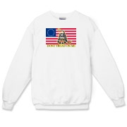 Don't Tread on me- Revolutionary Crewneck Sweatshi