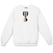 Pennies For Heroes Medal Crewneck Sweatshirt