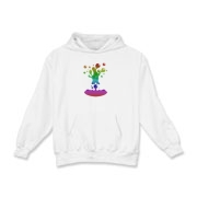 Lava Lamp Rainbow Kids Hooded Sweatshirt