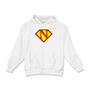 If you've ever been jealous of someone whose name starts with S when they wore a superman shirt, your time has come! You can now have your time in the sun with your own customized N-shield.