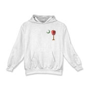 Especially for teachers, the School Apple Palmetto Moon Kids Hooded Sweatshirt features a smaller version of the South Carolina palmetto with an apple and chalkboard moon.