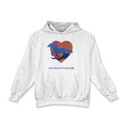 Water Heart -  Kids Hooded Sweatshirt