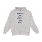 Duh Bears Kids Hooded Sweatshirt