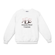 Awesome Breed Creations Kids Crewneck Sweatshirt
