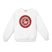 50's AM Logo Kids Crewneck Sweatshirt