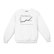 Net Worth Kids Crewneck Sweatshirt